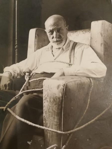 Vittorio Butera in una foto di Umberto