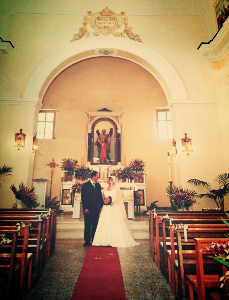 Matrimonio Lucy nella chiesa di sant'andrea