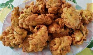 Fiori di zucca fritti in pastella