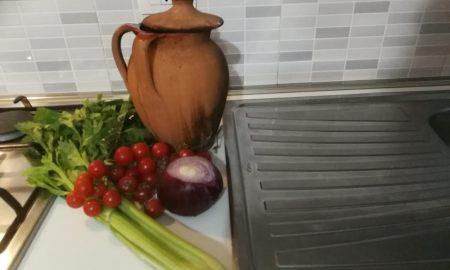 Pignata Sedano Pomodori E Fagili