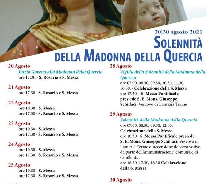 Solennita Madonna Della Quercia