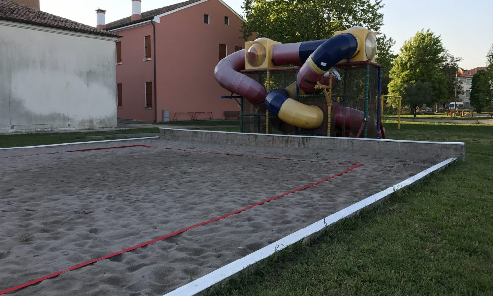 Capetti sportivi: campo da beach volley foto di Gianmaria Alberghini