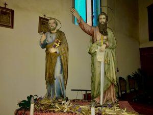 Borgo Aguiaro- santi Pietro e Paolo