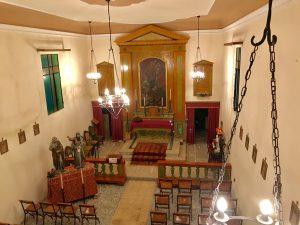 Borgo Aguiaro-interno dell'oratorio