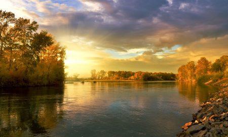 LE golene - Golena al tramonto