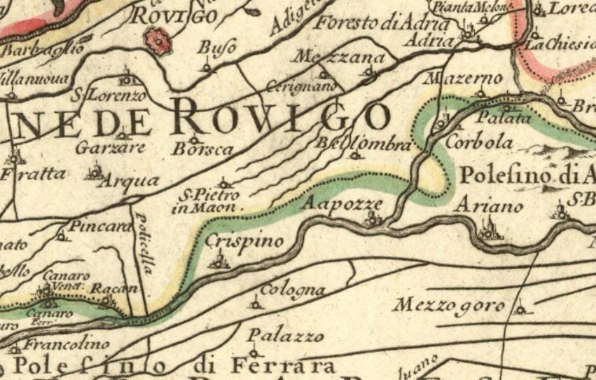 villa Pio Falcò - Crespino Rovigo