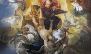 il mito di Fetonte a Crespino - Fetonte che cade