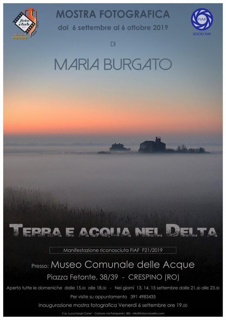 Mostra Fotografica di Maria Burgato