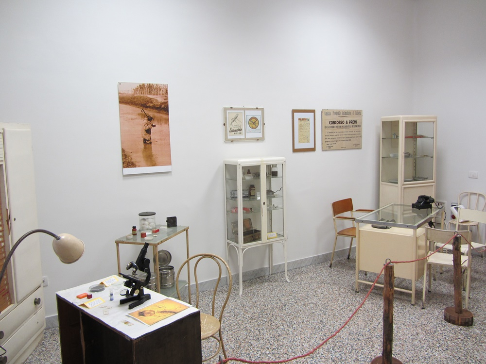 Il museo della bonifica pontina - Reperti Della Malaria