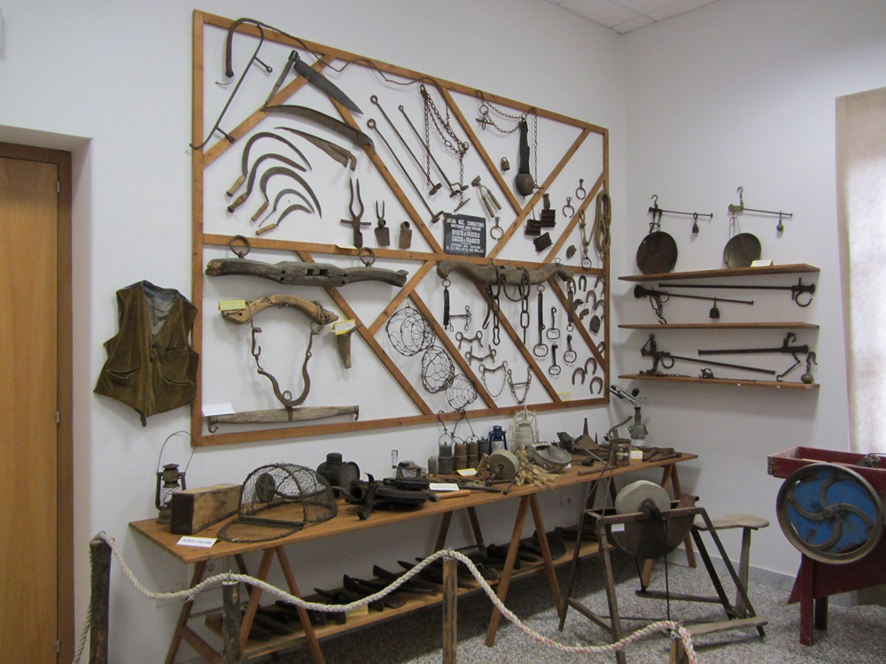 Il museo della bonifica pontina - Reperti