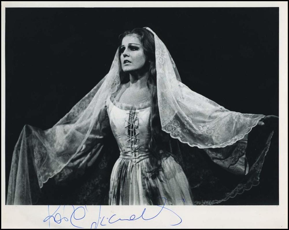 Katia Ricciarelli - Autografo