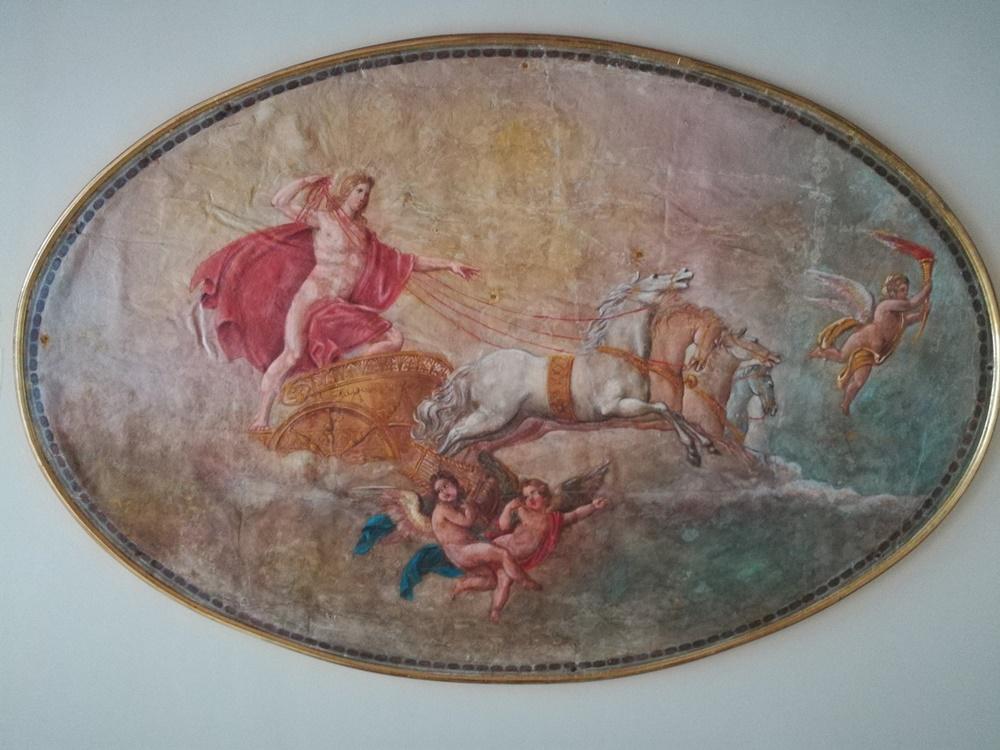 Giovanni Biasin - dettaglio del palazzo Gobbati