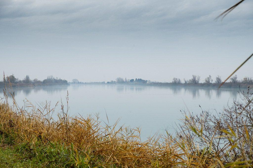 La casellati - Polesine Con Nebbia sulle rive