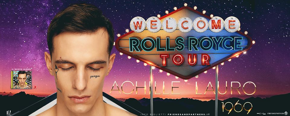 Achille Lauro - Lauro in tour