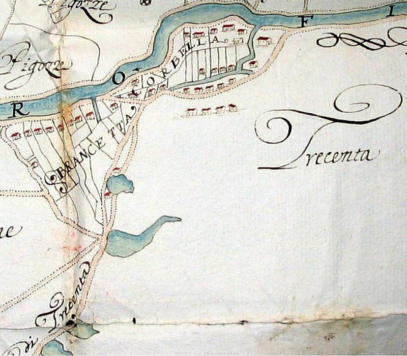 trecenta - Mappa Di Trecenta