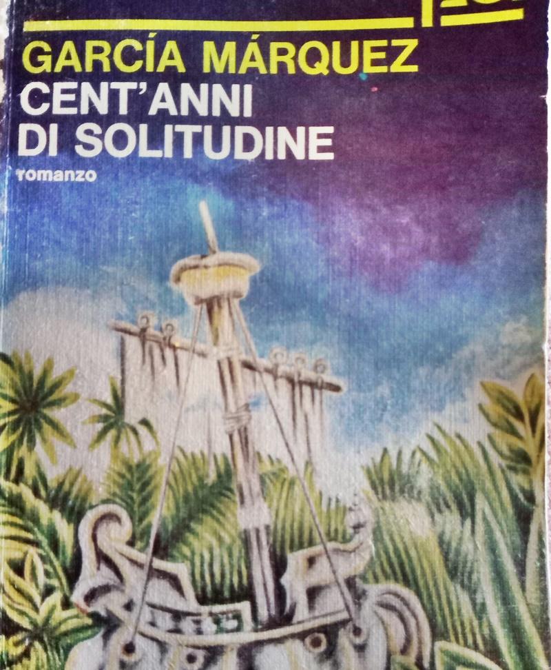 il Po e i romanzi - copertina del romanzo di Marquez