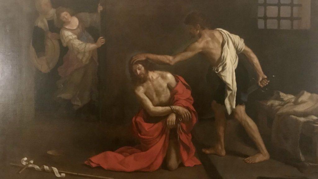 San Giovanni viene decapitato