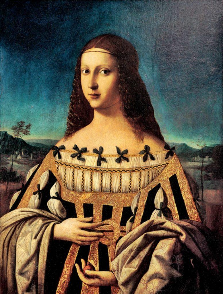 Lucrezia Borgia e il Polesine - Beata Beatrice Ii D'este con il volto di Lucrezia Borgia