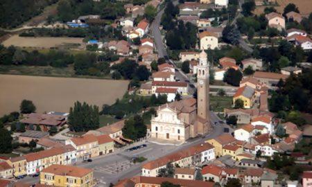 Ceneselli - veduta dall'alto di Ceneselli