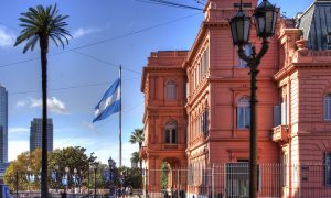 Polesani brasiliani - Buenos Aires e la casa rosada