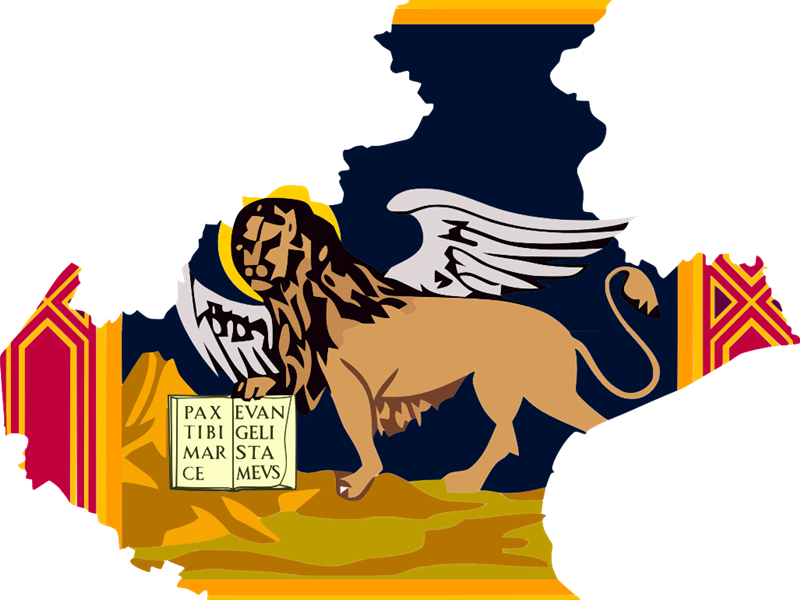 Veneti in Sud America - Veneto con il leone alato