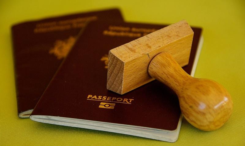 Veneti in Sud America - Passaporto con il timbro