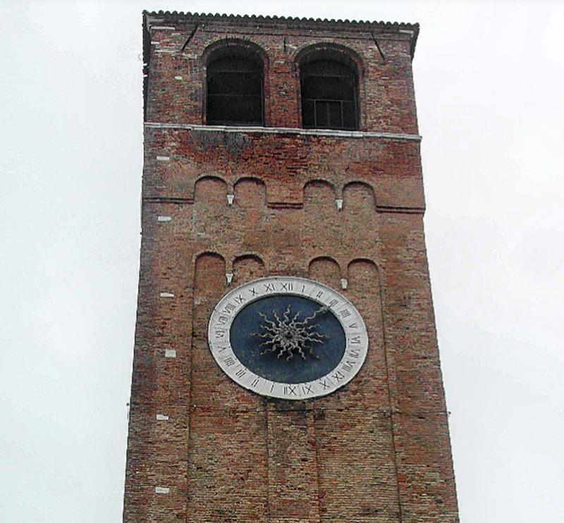 Visitare l'orologio di Chioggia - Torre di Chioggia