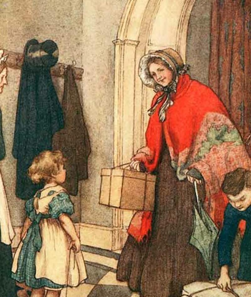 Lo scialle delle venete - Scialle Vintage di donna anziana