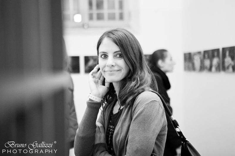 Elisa Bertaglia - foto dell'artista di Crespino