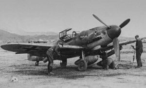 Foto aereo Mf109