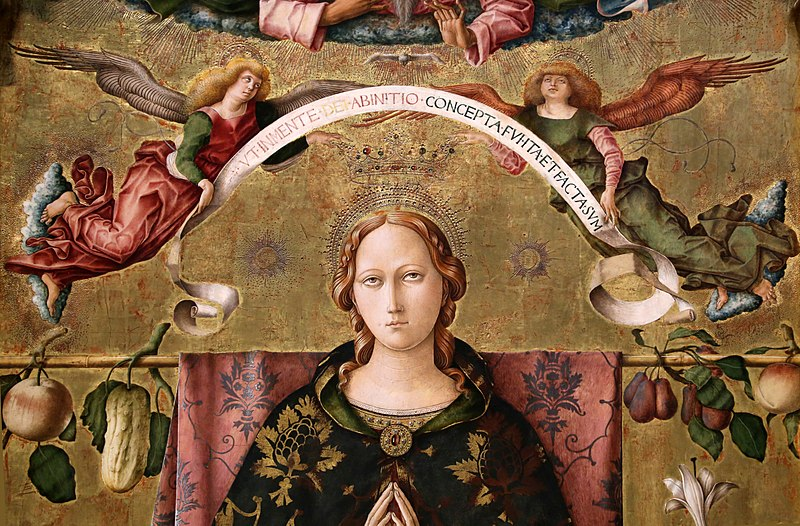 Immacolata - un dipinto pregevole della Madonna