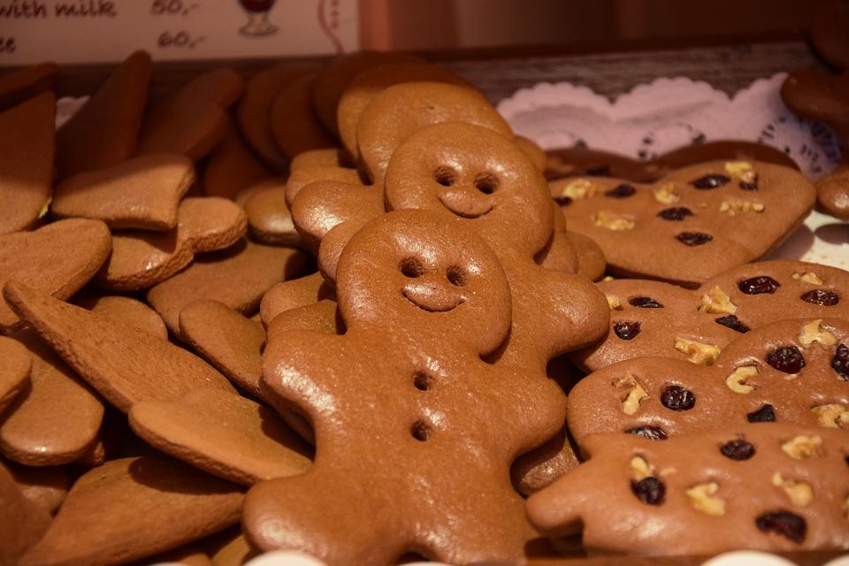 Santa Lucia - Biscotti a forma di pupazzo