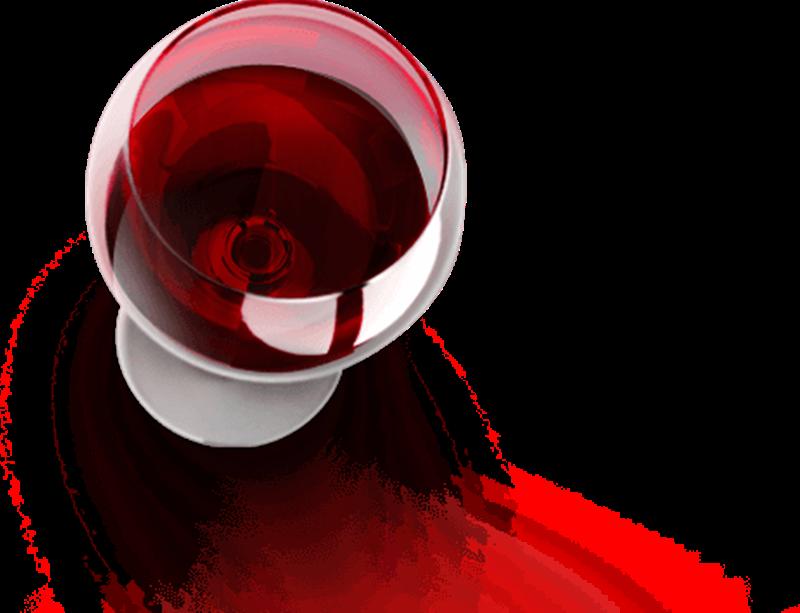 Il vino Clinto - Calice Di Vino rubino
