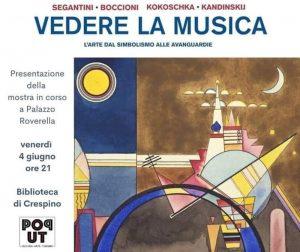 Vedere la Musica - Locandina dell'evento a Crespino