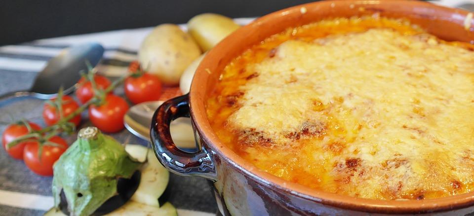 Gratin Polesano tradizionale - Patate Al Forno Gratinate con aromi