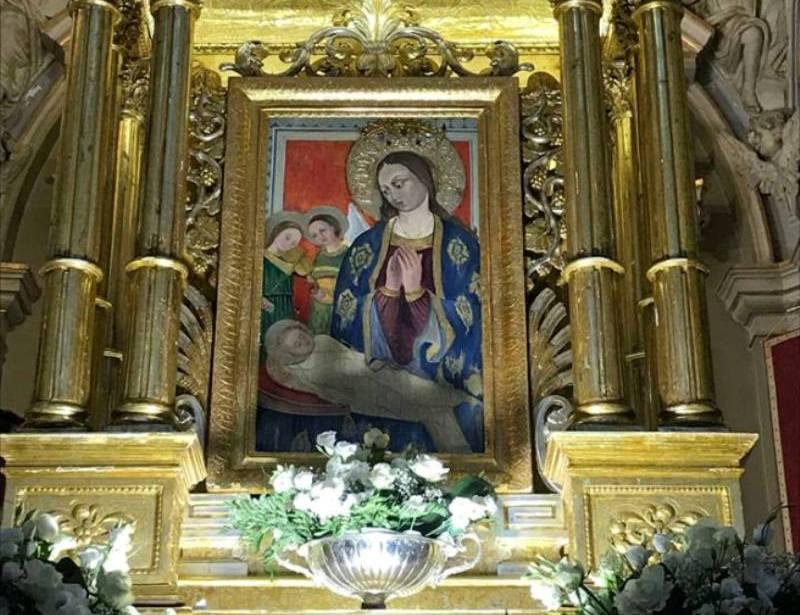 Una bellissima immagine della Madonna della Neve