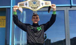 Il kickboxer Damiano Tramontana