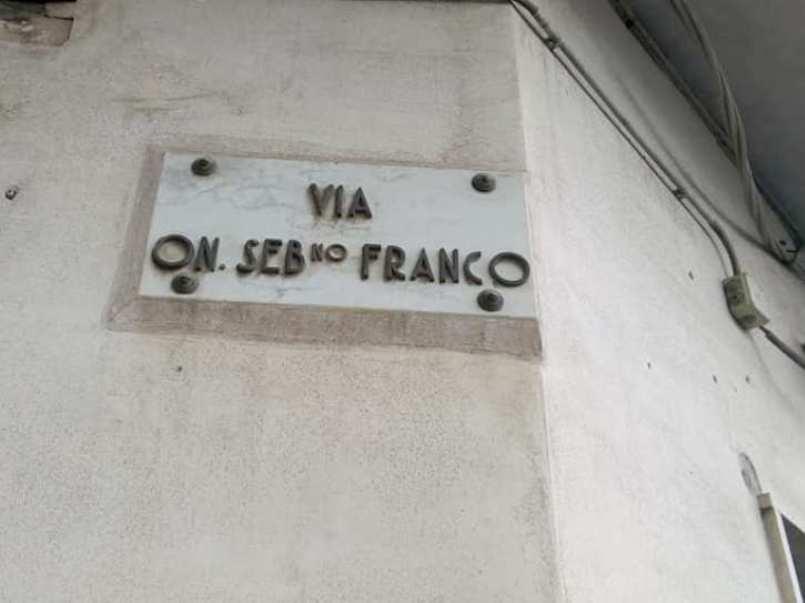 via onorevole Sebastiano Franco