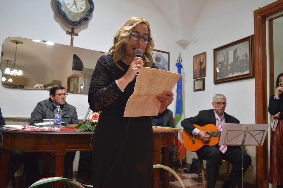 La poetessa Vincenza Santagelo