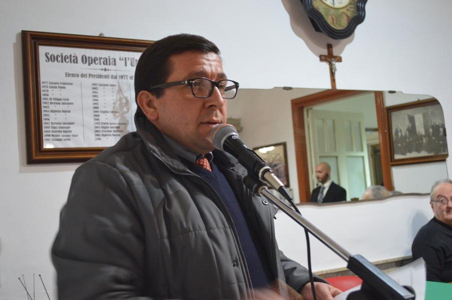 Il professor Giuseppe Iudicelli
