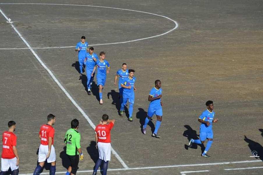 I ragazzi in campo durante una partita - foto di Giuseppe Gueli