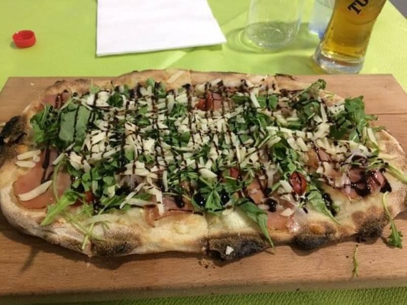 Pizza Con Funghi Kairos