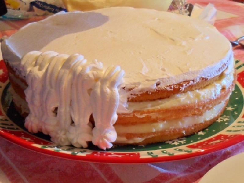 crema pasticcera - torta