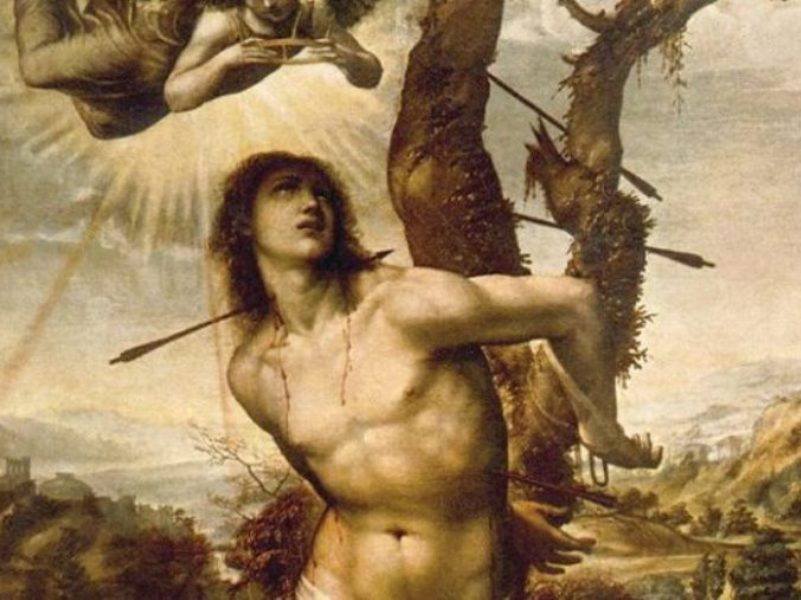 San Sebastiano Dipinto Di Il Sodoma