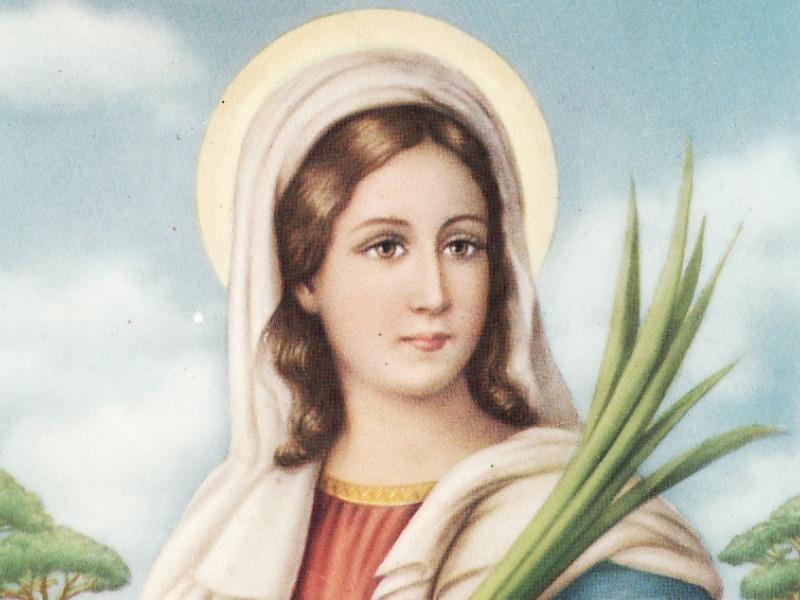 La martire siracusana Lucia