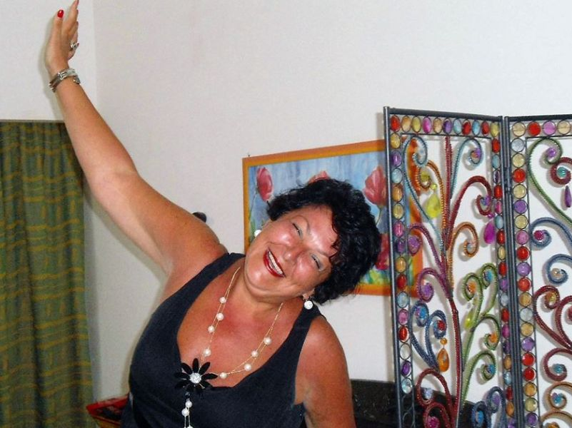 """Giusy ha vinto di recente il """"Premio Attualità"""" con 'Ricordi Vissuti'"""
