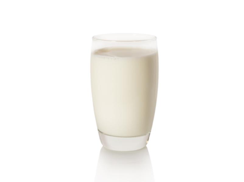 Latte bicchiere