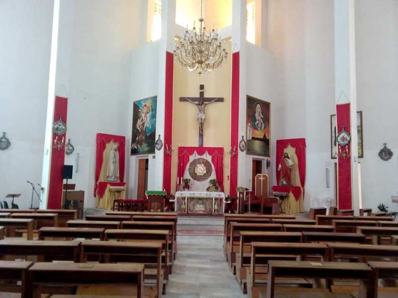 San Francesco Interno Chiesa Stemma