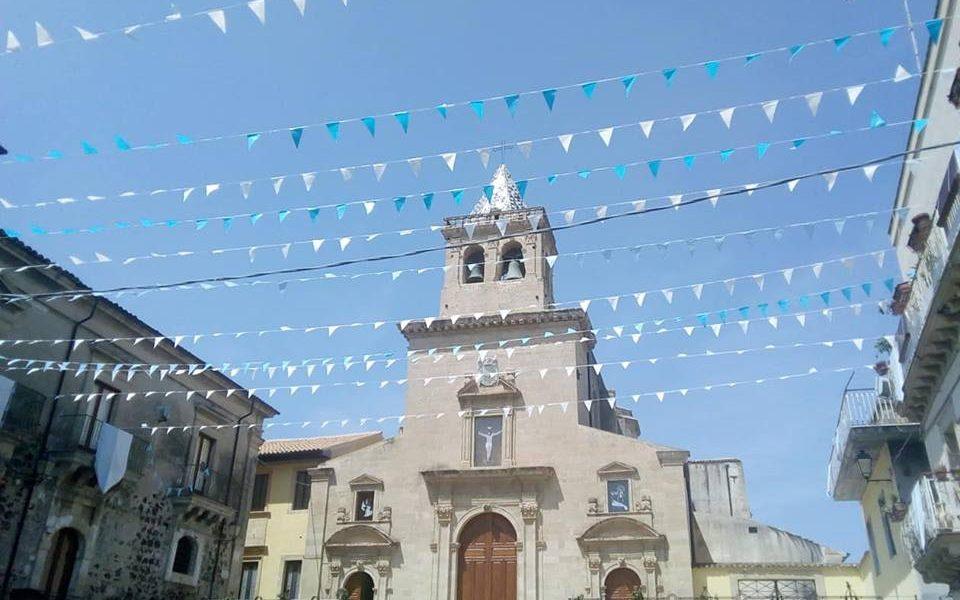 Chiesa Madre Addobbata per la festa