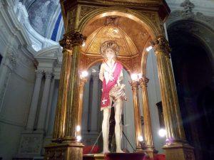 La Chiesa Celebra San Sebastiano